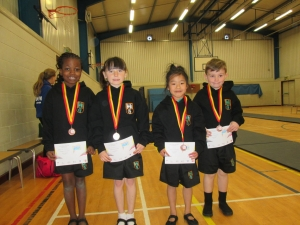 Gymnastic Competition - Garlinge Primary School