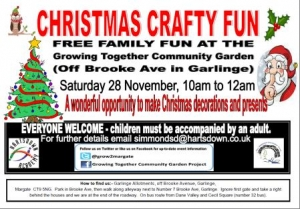 Christmas Crafty Fun - Garlinge Primary School