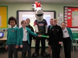 Thanet Baton Relay - Garlinge Primary School