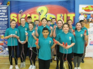 Year 6 Skip To Be Fit - Garlinge Primary School