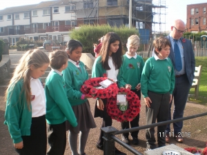 Remembrance Celebrations - Garlinge Primary School